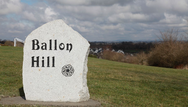 Hill naming stone