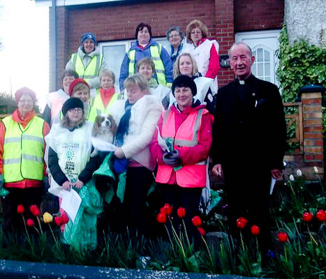 Spring clean night on Ballon Hill  April 2012