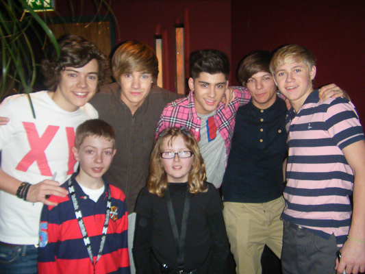 Shauna and Tadgh with One Direction