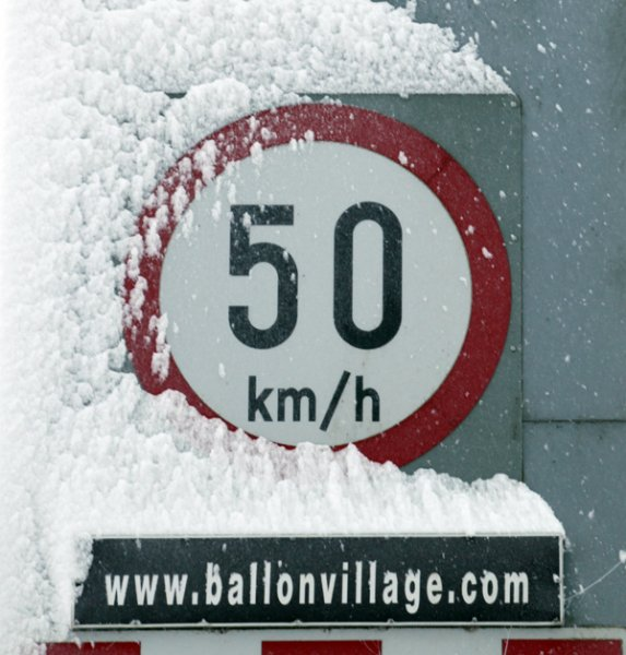 A cold welcome to Ballon