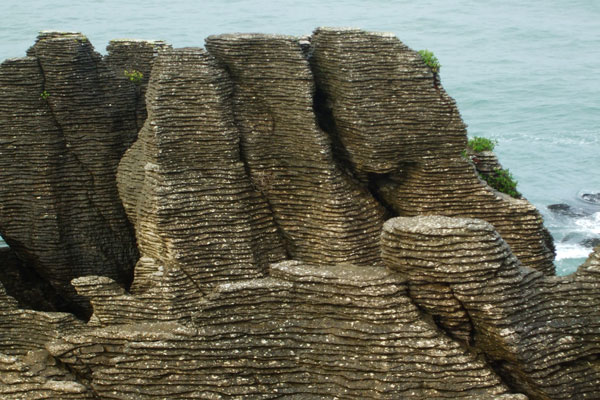 Pumakaiki or pancake rocks